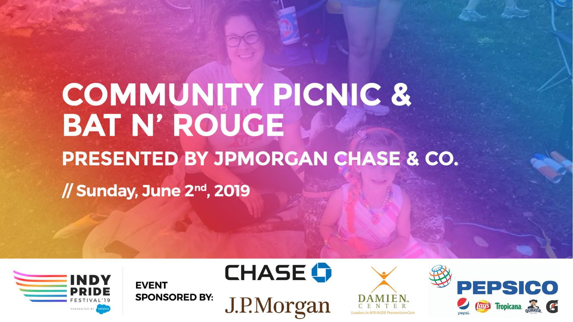 Community Picnic & Bat N' Rouge Presented by JP Morgan Chase | Indy
