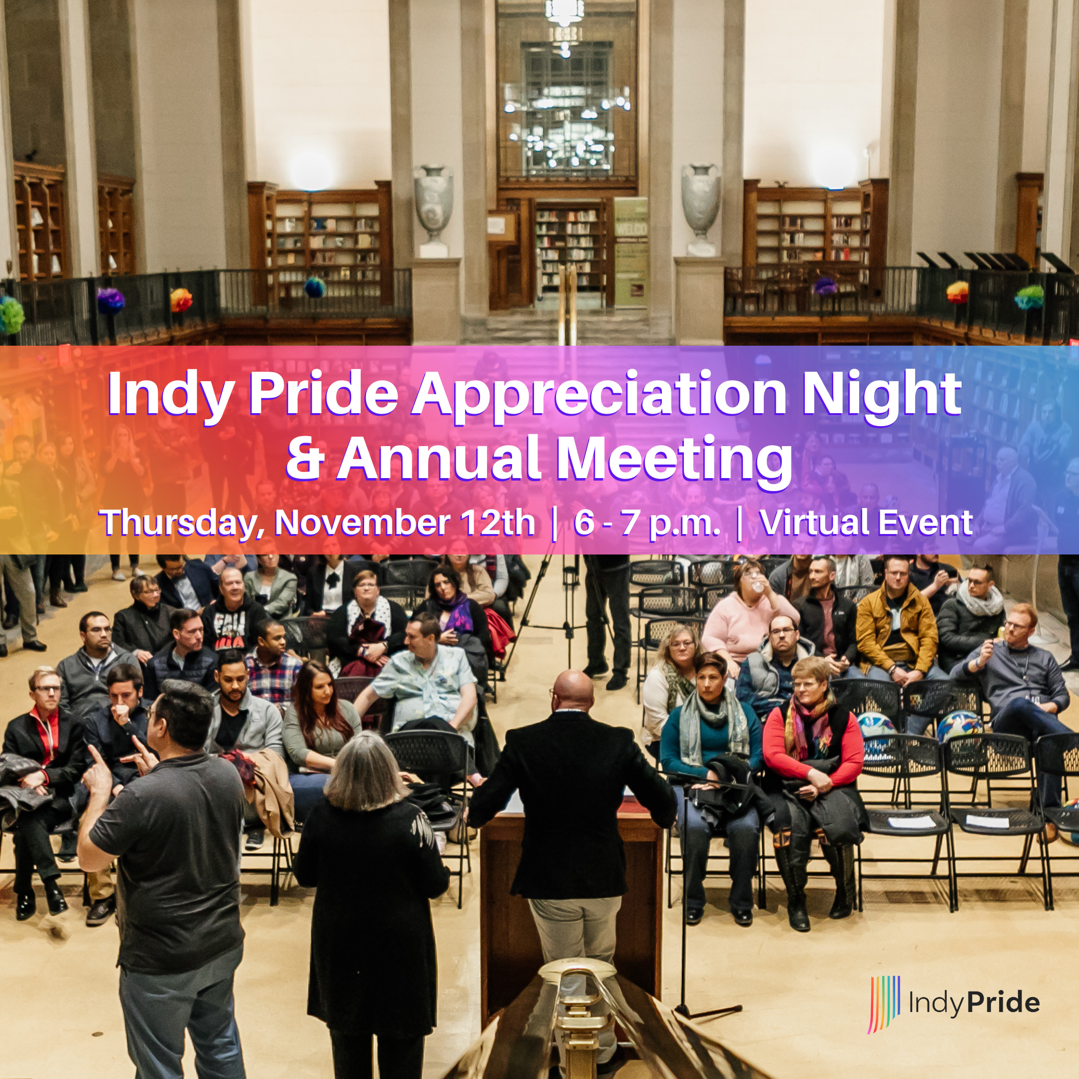 Indy Pride Appreciation Night and Annual Meeting 2020