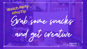 Watch Party ProTip -